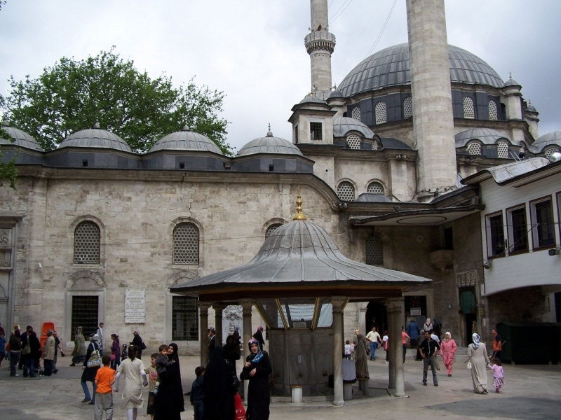 how to get to eyup sultan mosque from sultanahmet